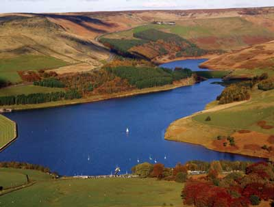 Dove Stone Reservoir will supply water for the 51 kW Saddleworth Hydro facility when it begins operating next year.