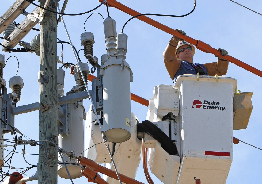 Duke Energy readies power line workers for summer storms ...