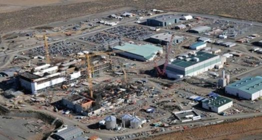 Hanford nuclear site Washington Yucca Mountain nuclear waste storage issue Nevada