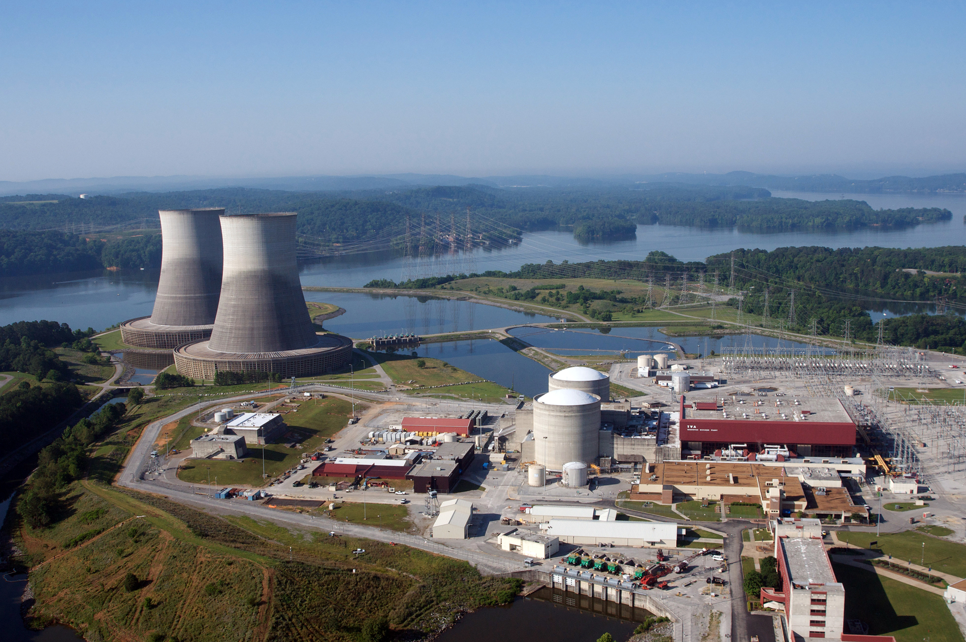 Tennessee Valley Authority TVA Sequoyah Watts Bar Brown's Ferry The Shaw Group