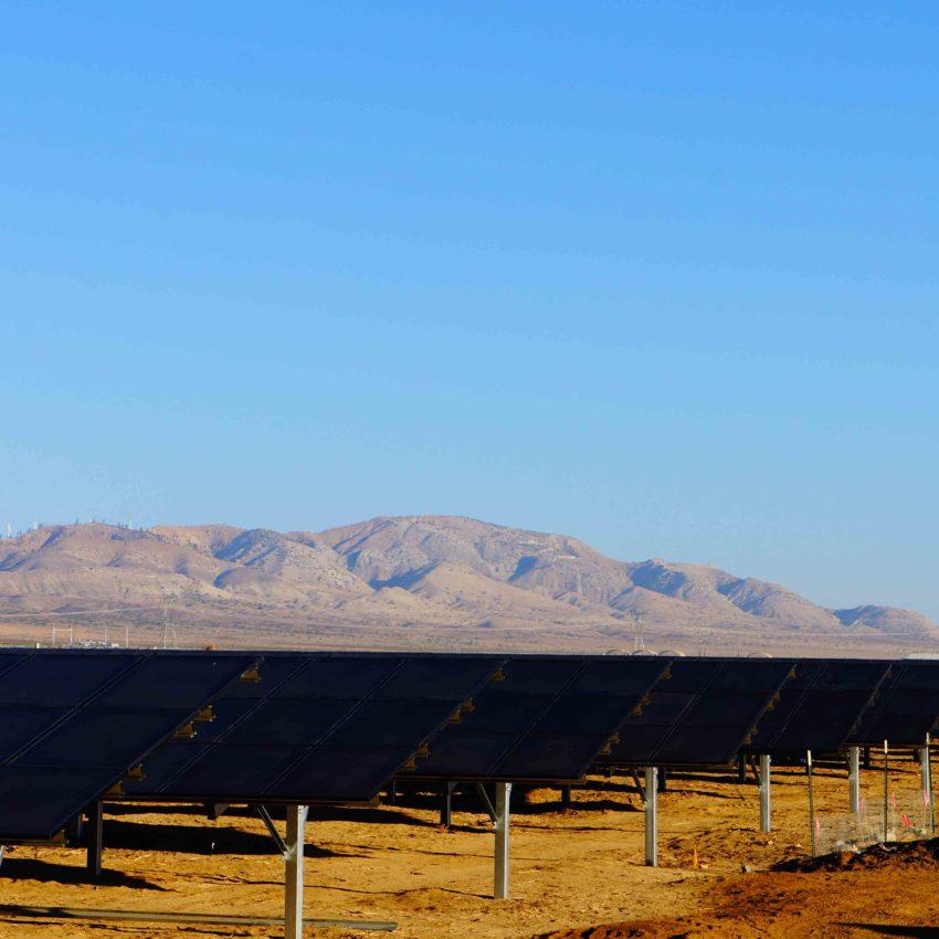 EDF Renewable Energy Catalina solar photovoltaic project California Bechtel First Solar Solar Frontier San Diego Gas & Electric