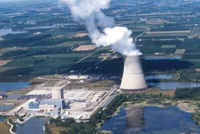 Davis-Besse nuclear plant in Ohio