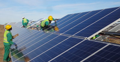 Construction on Utah's 1st Utility-Scale Solar Plant Complete