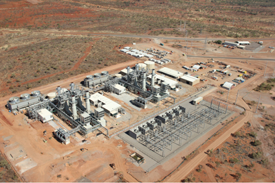 GE Diesel Engine Set for gas-fired power plant
