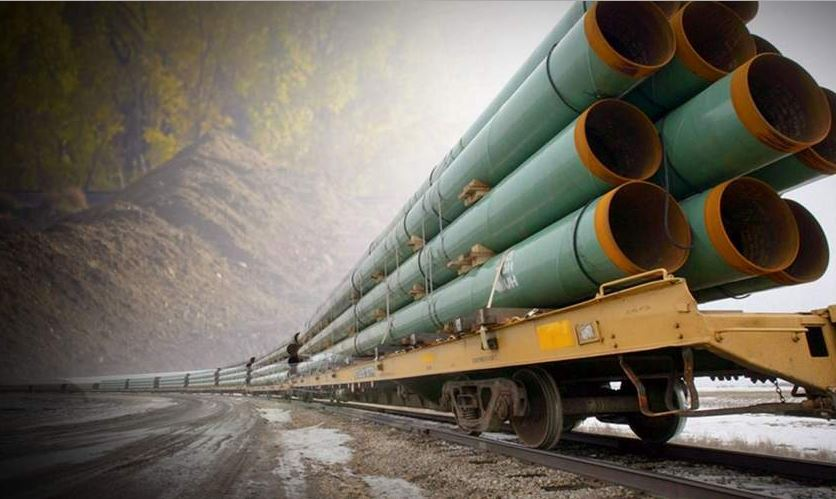 Southwestern Energy gas pipeline construction