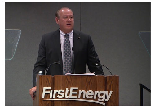 FirstEnergy CEO Charles Jones