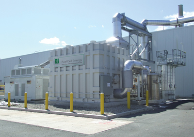 FuelCell Energy to install fuel cell power plants for United