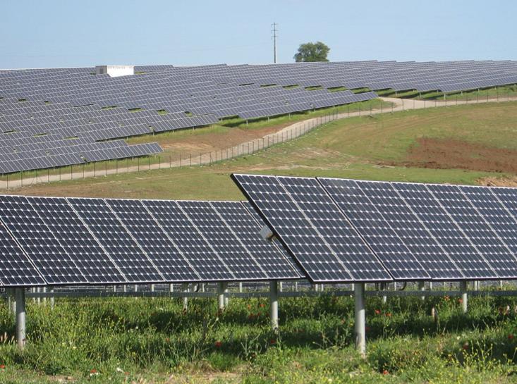 Rwanda Solar Power Field Dedicated Electric Light Amp Power