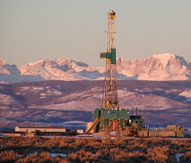 EPA Environmental Protection Agency Wyoming groundwater pollution hydraulic fracturing fracking
