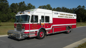 Hackney Charlotte Fire Department Hazmat Truck
