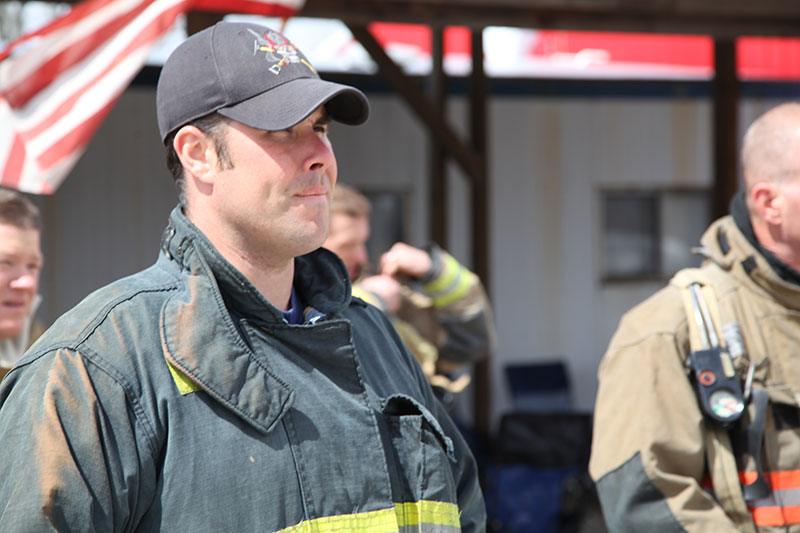 "Students take part in the three-day evolution, ""FDTN Engine Company Operations 1"" and ""FDTN Truck Company Operations 1."""