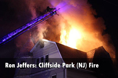 Firefighters, Police Team Up for Cliffside Park (NJ) Fire Rescue