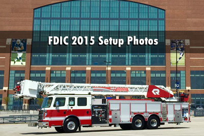 FDIC 2015 setup photos