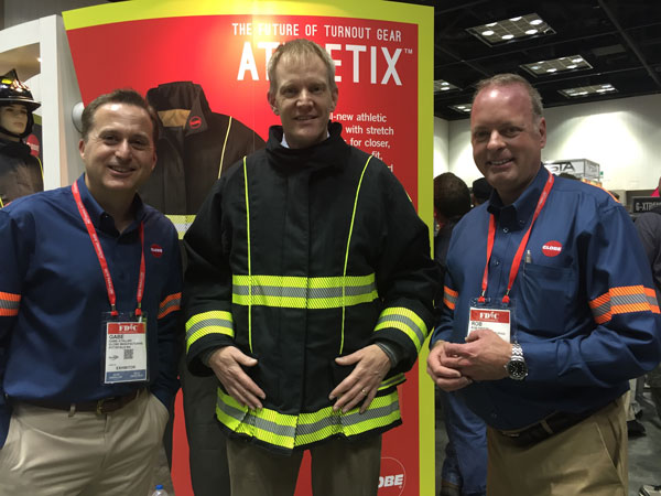 4a188f752c04 Globe Brings ATHLETIX™ Turnout Gear to FDIC International 2016 - Fire  Engineering