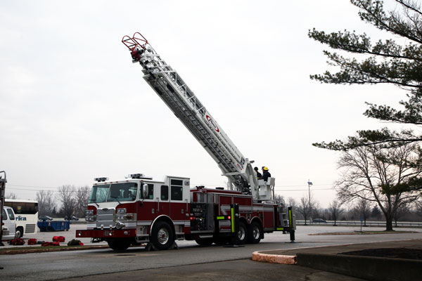 Firefighter Training Drills: Aerial Operations