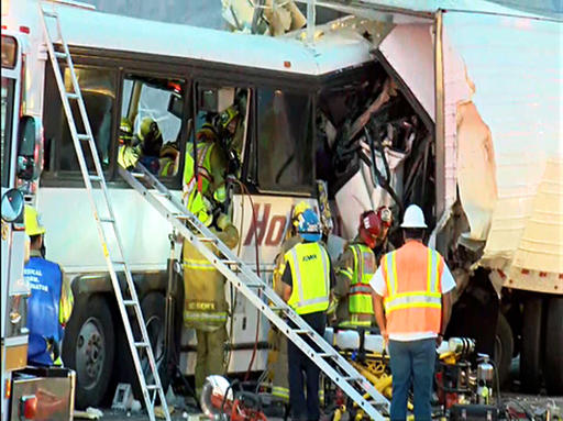 Multi-Fatal California Bus Crash