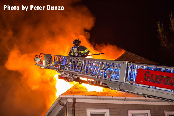 Firefighters Work To Control Garfield Nj House Fire Fire Engineering
