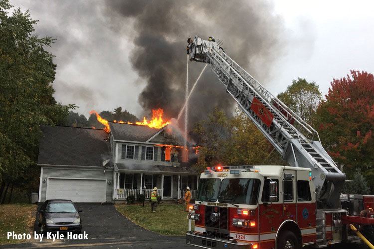 Multiple Departments Respond To Clifton Park Ny House