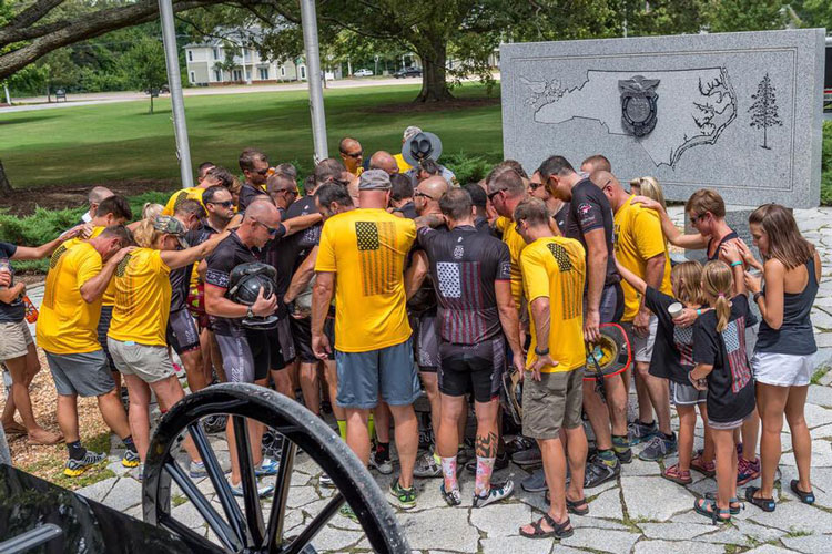 Carolina Brotherood Ride: Firefighters cycle to honor their fallen