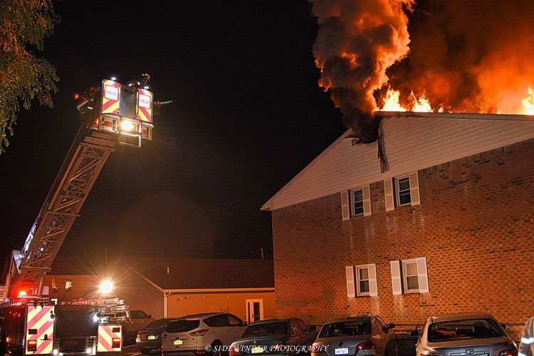 Firefighters Control Fire In Troy Ny Apartment Complex