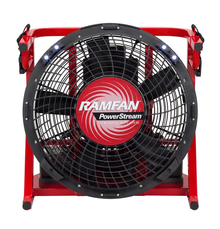 Ramfan Introduces Ex50li Battery Powered Fan With