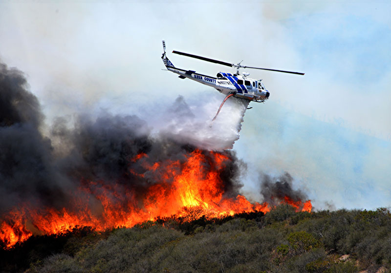 Fire Photography: CA Wildland Fire