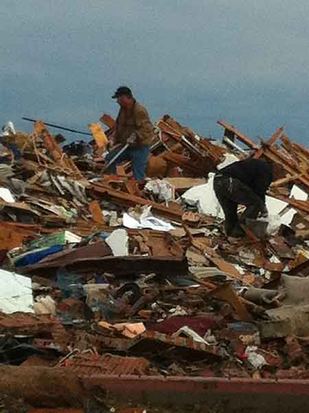 On the Ground in Moore (OK) After the Tornado