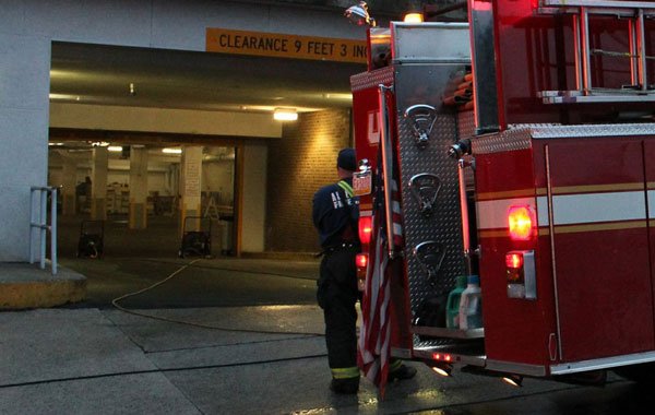 Motor Vehicle Accident in PA Parking Garage Provides Lessons for Firefighters