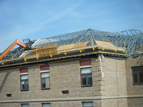 Construction Concerns: Steel Truss Double Roof