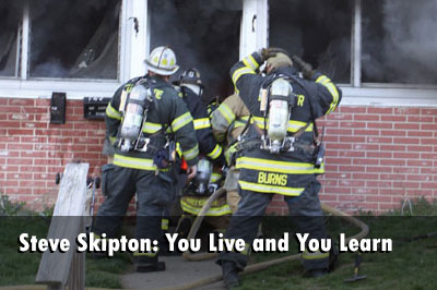 Steve Skipton: You Live and You Learn