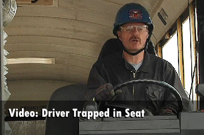 Training Minutes: Driver Trapped in Seat
