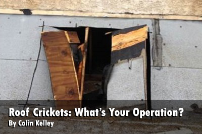 Roof Crickets: What's Your Operation?