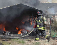 Alley Firefighting