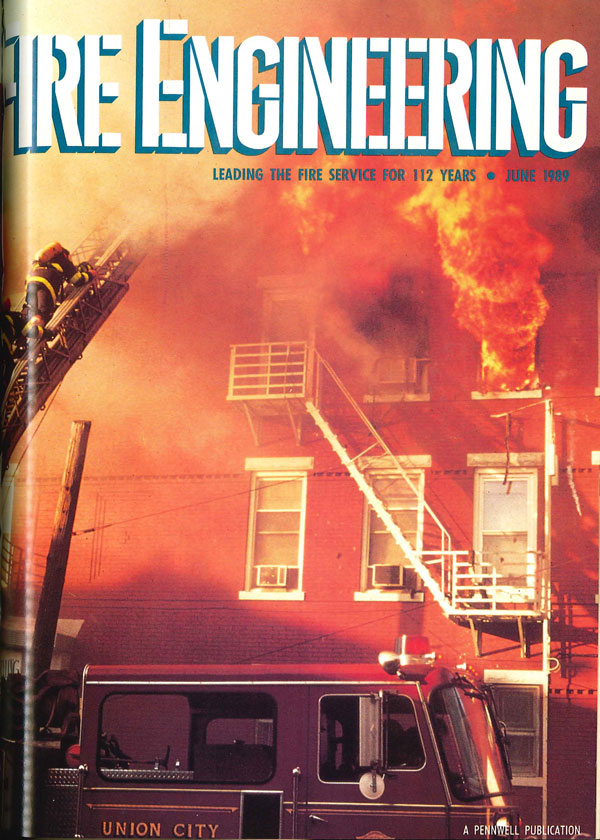 June 1989 cover of Fire Engineering
