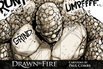 Drawn by Fire: Brittle Fitness