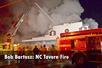 Bob Bartosz: NC Tavern Fire Photos