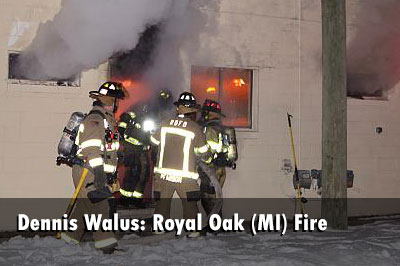 irefighters Control Royal Oak (MI) Commercial Fire