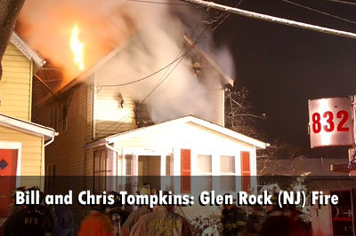 Firefighters Battle Glen Rock (NJ) Dwelling Fire