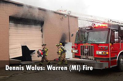 Warren (MI) Fire Crews Control Commercial Fire