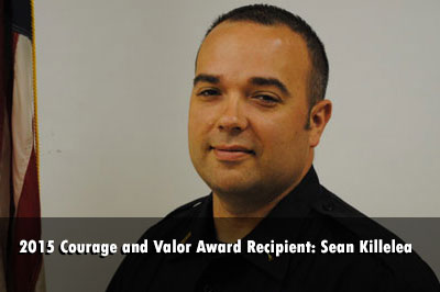Warren Township (IN) Sean Killelea Is 2015 Courage and Valor Award Recipient