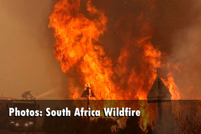 South Africa Wildfire