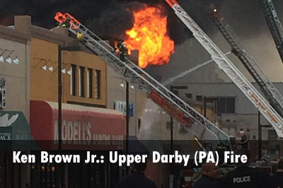 Photos: 4-Alarm Upper Darby Township (PA) Fire