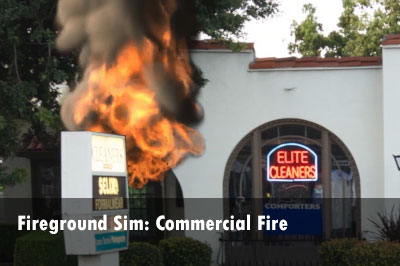 Simulation: Commercial Fire