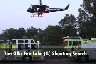 Photos: Search in Shooting of IL Officer