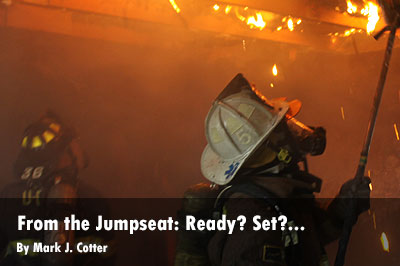 From the Jumpseat: Ready? Set?...