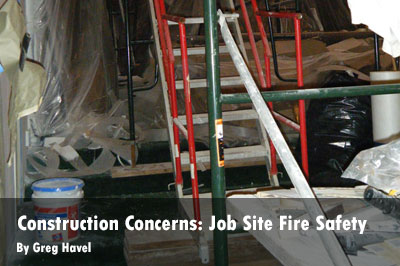 Construction Concerns: Job Site Fire Safety