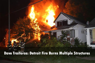 Photos: Detroit Residential Fire