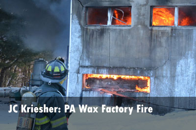 Photos: PA Factory Fire