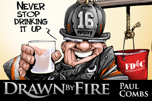 PAUL COMBS: DRAWN BY FIRE