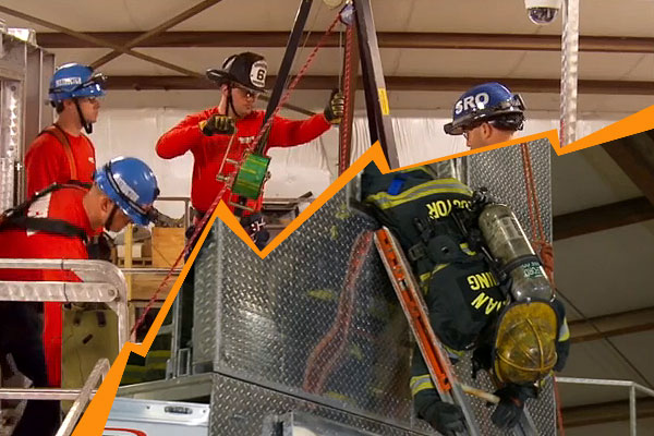 firefighters support foundation offers training programs  confined space rescue firefighter